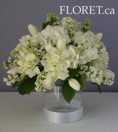 Classic White Spring Wedding Flowers - Floret.ca