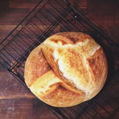 No-Knead Loaf From @itsmandal