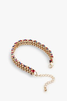 Pulsera dorada cadena - pulseras | Adolfo Dominguez shop online