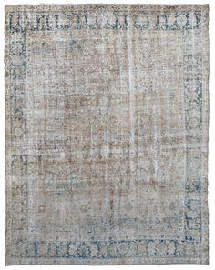 Tabriz Perisan Antique Rug
