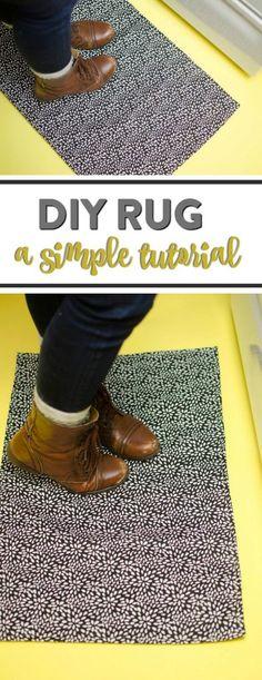 Simple DIY Rug