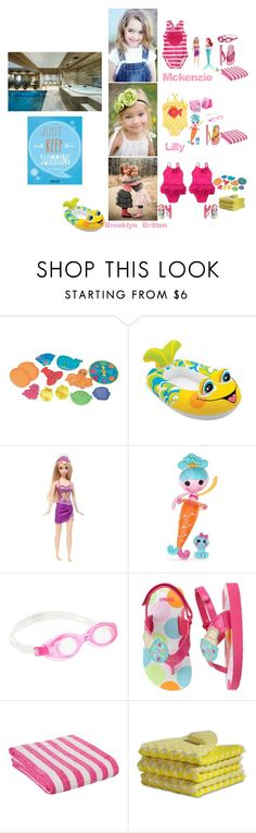"""""""Evening at the Pool"""" by my-creative-mess ❤ liked on Polyvore featuring Melissa & Doug, CO, Disney, J.Crew, Speedo and F"""