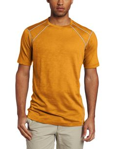 ExOfficio Men's Javatech Short Sleeve Tee -- Trust me, this is great! Click the image. : Hiking clothes