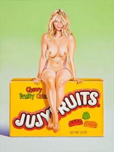 Mel RAMOS : Jujyfruits Judy