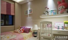 Fashion childrens room decoration effect picture 2016