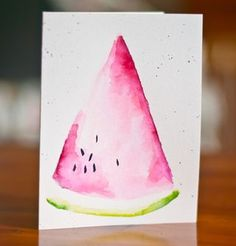 Watercolored Fruits -- Beginning (and more on the Fed Up Cha... | dear paperlicious | Bloglovin'