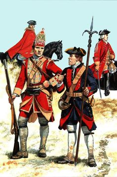 British army during the Seven Years War