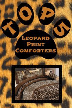 Top 5 Leopard Print Comforters