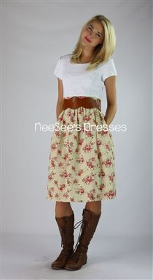 The Celeste by Mikarose Summer Collection 2013 | Modest Dresses | Mikarose Would be very cute with country boots on