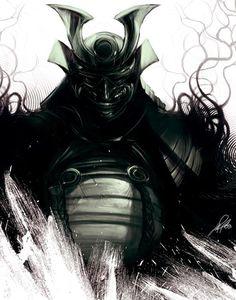 dark samurai anime - Google Search