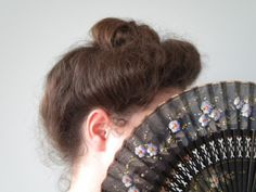 Tutorial: Edwardian Gibson Girl Hairstyle updo | locksofelegance