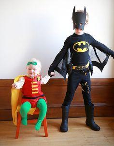 Batman Kostüm selber machen | Kostüm Idee zu Karneval, Halloween & Fasching