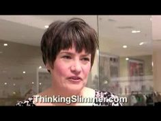 """Slimpod user Barbara tells how she's lost 84lbs by Thinking Slimmer - """"it's like someone has turned down  the volume control on my appetite."""" More details at www.ThinkingSlimmer.com"""