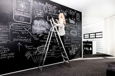 A very big Blackboard filled with inspiration!