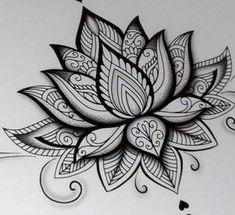 Hand Tattoos, Sleeve Tattoos, Girl Tattoos, Tattoos For Guys, Temp Tattoo, Tattoo Ink, Lotus Tattoo Men, Tattoo Buddhist, Mandala Canvas