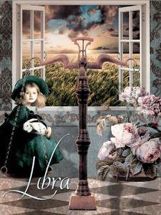 AstroSpirit / Libra ♎ / Air /  par Hannah Blue