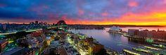 Amazing photo by Award winning photographer Mark Gray - copyright - Sydney - Bridge & Opera House and Harbour.