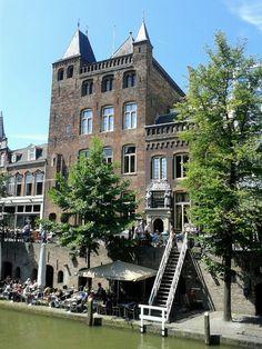 Stadskasteel Oudaen in Utrecht