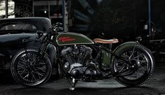 Harley-Davidsion Sportster Boardtracker by @studiomotor