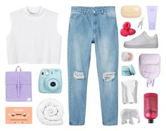 """""""when i'm alone, i'd rather be with you"""" by moonlightxbby ❤ liked on Polyvore featuring Monki, Herschel Supply Co., Brinkhaus, NIKE, Sisley Paris, Lanvin, Rosenthal, The Elephant Family, philosophy and The Body Shop"""