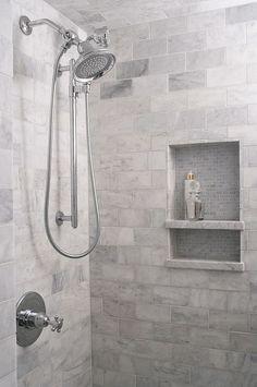 Shower Tile. Shower Tile Combination. Shower and niche tile combination. Shower and niche tile combination #ShowerTile #nicheshowertile #tilecombination