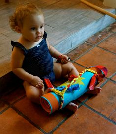 Baby yoga mat strap by Alabinbombam on Etsy