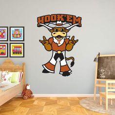 Fathead NCAA Texas Longhorns HookEm Wall Decal - 99-99024