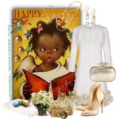 """HAPPY SUNDAY!!! & Merry CHRISTMAS!!!"" by enjoyzworld on Polyvore"