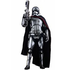 Image of Hot Toys Star Wars Episode VII Figure Captain Phasma Movie Masterpiece 13 Inch Figure