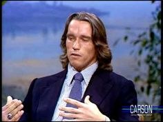 """#TBT to Arnold Schwarzenegger talking about his book, """"Arnold's Bodyshaping for Women"""" on Johnny Carson"""