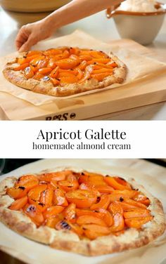 Perfect for Summer entertaining! via Entertaining with Beth Easy Apricot Galette Recipe. Perfect for Summer entertaining! via Entertaining with Beth Apricot Galette Recipe, Apricot Tart, Apricot Recipes, Tart Recipes, Fruit Recipes, Gourmet Recipes, Dessert Recipes, Cooking Recipes, Recipies