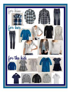 Jennifer Ellison Photography: What to wear for a family photo shoot?