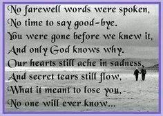 In loving memory .