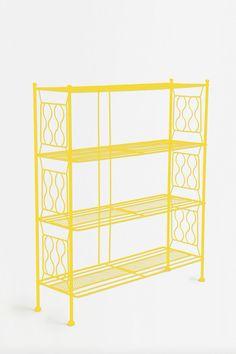 Yellow Brimfield Bookcase