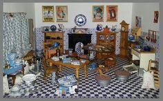 De keuken, voor het maken van alle lekkere Sinterklaas lekkernijen