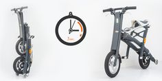 The Stigo bike may considered as a parent of a new class of urban vehicles – that of compact foldable electric scooters. Stigo has a top speed of 25 km/h and the lithium battery allows range of
