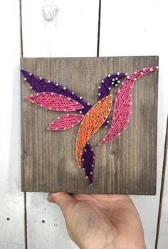 Kolibri String Art/Hummingbirds Wall Art/String Art