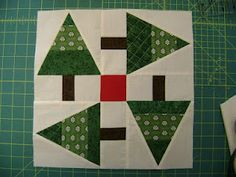 Pat's Pines quilt from Northern Deb Quilts