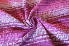 size4 purple stripes baby wrap II:nd quality