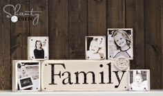 I already love photo & letter blocks. But this is a different way to attach the pics & I really like!
