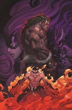 Inhumans #3 by Joe Madureira *