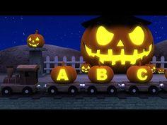 Learn ABC's with Alphabet Halloween Pumpkin Song | Halloween ABC Songs - YouTube