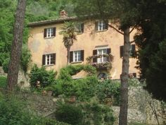 """The """"Under the Tuscan Sun"""" house is real and in Italy!  The writer and director of the film, Audrey Wells, says that they didn't actually change much of the house during filming to show the before and after. They just cleaned it up a little and """"filmed it in warmer, prettier light,"""" she says, to make it look like the rooms had been renovated."""