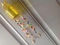 Bottle Mobile/Bicycle Mobile/Chime Mobile/Beaded by BonKim on Etsy