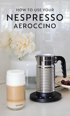 Amplify your morning coffee ritual with this easy how-to guide for using your Nespresso Aeroccino machine. Using the Aeroccino milk frother, you can create a hot or cold milk foam—turning your cappuccino, latte, or macchiato into an indulgent experience.