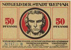 Notgeld aus Weimar