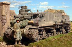 Priest by Steven J. Image Avion, Us Armor, Military Action Figures, Military Armor, Ww2 Photos, Tank Destroyer, Model Hobbies, Model Tanks, Military Modelling