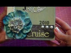 Cruise Themed Envelope Mini Album - YouTube