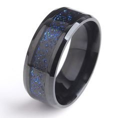In case you missed it, here you go  8mm Black Hollow blue Dragon 316L Stainless Steel wedding ring http://www.jewelryfact.com/products/8mm-black-hollow-blue-dragon-316l-stainless-steel-wedding-ring?utm_campaign=crowdfire&utm_content=crowdfire&utm_medium=social&utm_source=pinterest