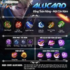 Moba Legends, Creepypasta Cute, Mobile Legend Wallpaper, Best Build, Alucard, Mobile Game, Haiku, My Best Friend, Weapons
